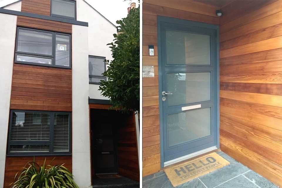 External Wood Panelling