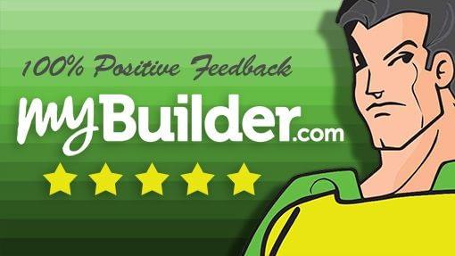 Kingston Handyman Hero's 100% positive feedback on myBuilder